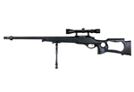 Well MB10D Airsoft Sniper Rifle Military Spec Fluted Barrel (Black)
