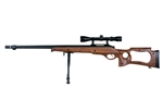 Well MB10D Airsoft Sniper Rifle Military Spec Fluted Barrel (Wood)