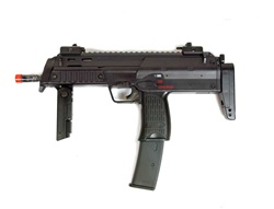 WELL KP7 Airsoft Electric Gun (V2) R4 Hi-Cap Mag Package