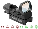 Reflex Red Dot Sight Warfare Edition with Red/Green Dot and 4 Reticle Patterns