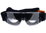 Lancer Tactical FrameFree Airsoft Protection Goggles (Clear Lens)