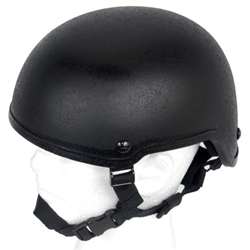 Lancer Tactical MICH 2001 Type Airsoft Protection Helmet with Adjustable Retention Straps (Black)