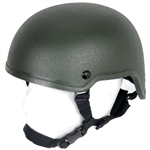 Lancer Tactical MICH 2001 Type Airsoft Protection Helmet with Adjustable Retention Straps (Olive Drab)