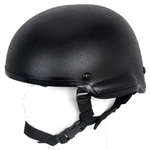 Lancer Tactical MICH 2002 Type Airsoft Protection Helmet with Integrated NVG Mount and Adjustable Retention Straps (Black)