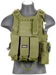 Lancer Tactical CA-304 Tactical Plate Carrier Vest (Olive Drab)