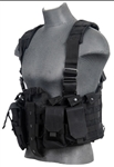 Lancer Tactical CA-306 Tactical Plate Carrier Vest (Black)