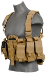 Lancer Tactical CA-306 Tactical Plate Carrier Vest (Tan)