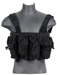 Lancer Tactical CA-308 Integrated AK Chest Rig (Black)