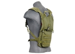 Lancer Tactical Recon Hydration Backpack for 2.5L Hydration Bladders (Olive Drab)