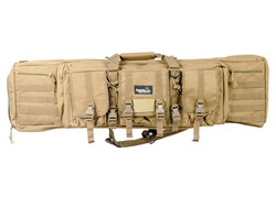 "Lancer Tactical 42"" MOLLE Gun Bag (Tan)"
