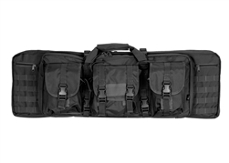 "Lancer Tactical 36"" MOLLE Double Gun Bag (Black)"
