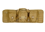 "Lancer Tactical 36"" MOLLE Double Gun Bag (Tan)"