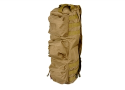 Lancer Tactical Shoulder Sling Pack Go-Bag (Tan)