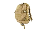 Lancer Tactical MOLLE 3-Day Assault Pack (Tan)