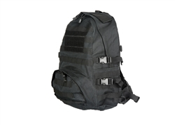 Lancer Tactical MOLLE Patrol Pack (Black)