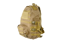 Lancer Tactical MOLLE Patrol Pack (Tan)