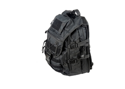 Lancer Tactical MOLLE Laptop Backpack (Black)