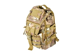 Lancer Tactical MOLLE Laptop Backpack (Multi-Camo)