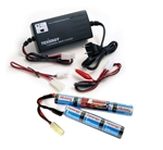 MetalTac Power Package - 8.4v 1600 mAh Butterfly Battery & Smart Charger