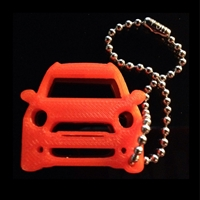 3D Countryman S Key Dangle