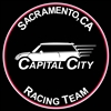 Capital City MINIs Racing Team Grill Magnetic Grill Badge