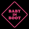 Baby in Boot