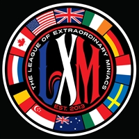 LXM International Grill Badge