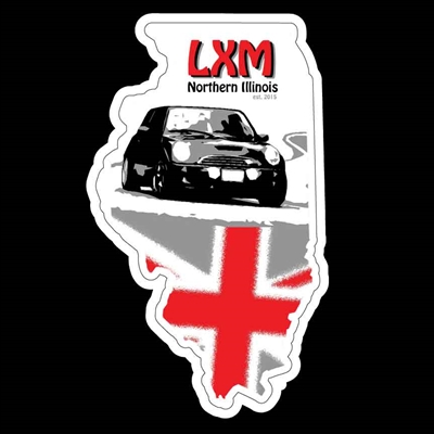 LXM of Northern Illinois White Background