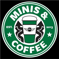 MINIS & COFFEE Static Cling