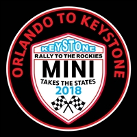 MTTS 2018 Orlando to Keystone Vinyl Decal or Grill Badge