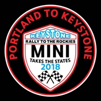 MTTS 2018 Portland to Keystone Vinyl Decal or Grill Badge