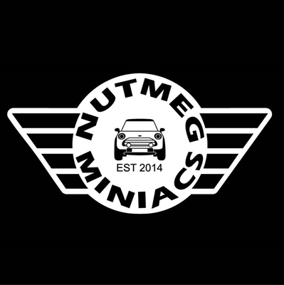 NUTMEG MINACS Vinyl Sticker
