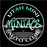 UTAH MINIacs Green Round Decal or Grill Badge