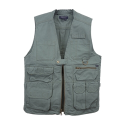 5.11 TACTICAL VEST, OD GREEN, X-LARGE