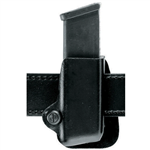 SAFARILAND MODEL 573 OPEN TOP MAGAZINE AND HANDCUFF POUCH, PLAIN KYDEX, RIGHT HANDED