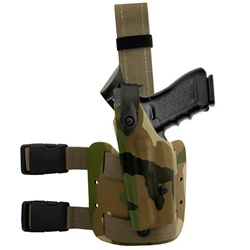 SAFARILAND 6004 HOLSTER FOR BERETTA 92F, LH (WOODLAND CAMO)