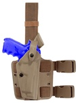 SAFARILAND 6004 HOLSTER FOR BERETTA 92F, RH (BROWN FLAT DARK EARTH)