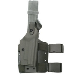 SAFARILAND 6004 HOLSTER FOR GLOCK 17/22 w/M3X / M6X, RH (FOLIAGE GREEN)