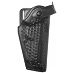 SAFARILAND Model 6280 SLS Mid-Ride Level II Retention™ Hardshell Duty Holster, Beretta 92/96, Right-Handed, Basketweave