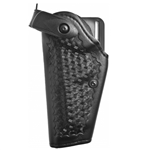 SAFARILAND Model 6280 SLS Mid-Ride Level II Retention™ Hardshell Duty Holster, Beretta 92/96 (without rail), Left-Handed, Basketweave