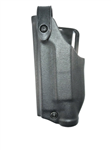 Safariland 6280 SLS Mid-Ride Level-II Duty Holster, Glock 17, 22 w/SF X400 & 19/23 w/SF X400, STX Tactical, Black, LH