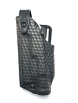 Safariland 6280 SLS Mid-Ride Level-II Retention, Glock 17, 22 w/SF X400; 19, 23 w/SF X400, STX Black Basket Weave, LH