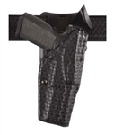 SAFARILAND Model 6320 ALS® Mid-Ride, Level II Retention™ Duty Holster, Glock 17/22 and 19/23, Right-Handed, STX Basketweave