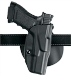 SAFARILAND 6378 ALS CONCEALMENT PADDLE HOLSTER, GLOCK 17, 19, 22, 26, LEFT HANDED, BLACK
