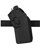 SAFARILAND 7376RDS HOLSTER FOR GLOCK 19 WITH LIGHT AND OPTIC, BLACK, LH
