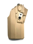 SAFARILAND 7376RDS HOLSTER FOR GLOCK 17/22 WITH LIGHT AND OPTIC, FDE, RH