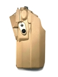 SAFARILAND 7376RDS HOLSTER FOR GLOCK 17/22 WITH LIGHT AND OPTIC, FDE, LH