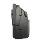 SAFARILAND 7377 GLOCK 19/23 W/ TLR-7, TLR-8, XC-1, XC-2, AND APLC, SAFSEV, BLACK, LH, BELT LOOP