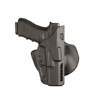 SAFARILAND ALS CONCEALMENT PADDLE HOLSTER, GLOCK 17, 22, LEFT HANDED, BLACK