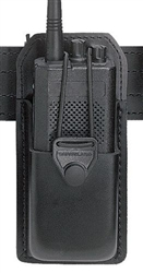 SAFARILAND RADIO CARRIER W/ SWIVEL (BLACK, PLAIN)